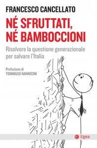 Copertina di 'Né sfruttati, né bamboccioni'