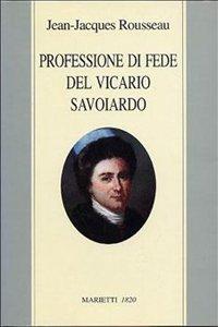 Copertina di 'Professione di fede del vicario savoiardo'