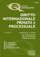 I Quaderni del praticante Avvocato - Diritto Internazionale Privato e Processuale - Redazioni Edizioni Simone
