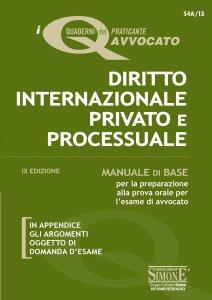 Copertina di 'I Quaderni del praticante Avvocato - Diritto Internazionale Privato e Processuale'