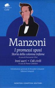 Copertina di 'I Promessi sposi-Storia della colonna infame-Inni sacri-Odi civili. Ediz. integrale'