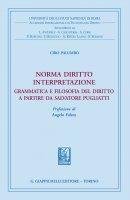 Norma diritto interpretazione - Ciro Palumbo