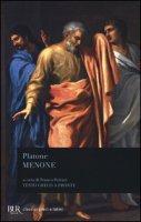 Menone. Testo greco a fronte - Platone