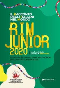 Copertina di 'Il racconto degli Italiani nel Mondo. RIM JUNIOR 2020'