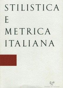 Copertina di 'Stilistica e metrica italiana (2018)'