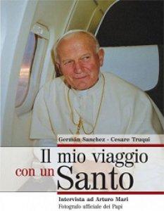 Copertina di 'Mio viaggio con un santo'
