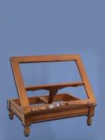 Leggio da tavolo in legno stile classico - dimensioni 38,5x30 cm