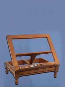 Copertina di 'Leggio da tavolo in legno stile classico - dimensioni 38,5x30 cm'