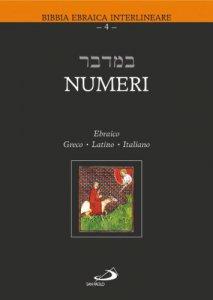 Copertina di 'Numeri. Testo italiano, ebraico, greco e latino'