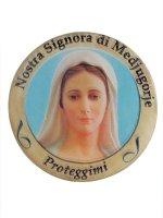 Adesivo Nostra Signora di Medjugorje (10 pezzi)