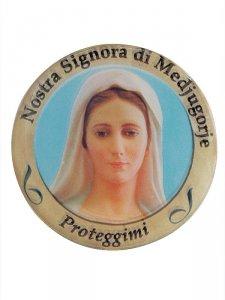 Copertina di 'Adesivo Nostra Signora di Medjugorje (10 pezzi)'