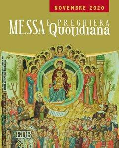 Copertina di 'Messa e preghiera quotidiana. Novembre 2020'