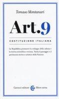 Costituzione italiana: articolo 9 - Montanari Tomaso