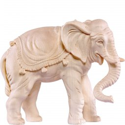 Copertina di 'Elefante H.K. - Demetz - Deur - Statua in legno dipinta a mano. Altezza pari a 11 cm.'