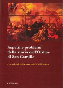 Copertina di 'Aspetti e problemi della storia dell'ordine di San Camillo.'