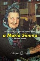 Le anime del Purgatorio hanno detto a Maria Simma. Volume 1