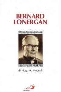 Copertina di 'Bernard Lonergan'