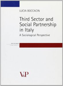Copertina di 'Third sector and social partnership in Italy. A sociological perspective'