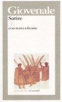 Satire. Testo latino a fronte - Giovenale D. Giunio