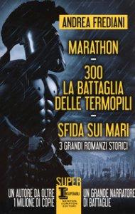 Copertina di 'Marathon-300. La battaglia delle Termopili-Sfida sui mari'