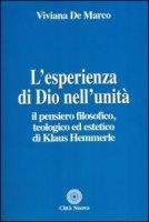 L'esperienza di Dio nell'unità - De Marco Viviana