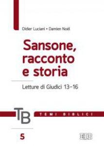 Copertina di 'Temi biblici. 5. Sansone, racconto e storia'
