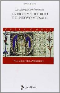 Copertina di 'La liturgia ambrosiana'