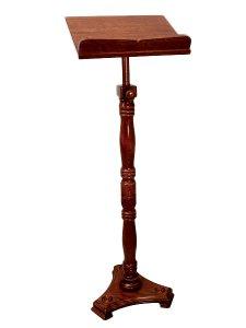 Copertina di 'Leggio stelo in legno tornito'