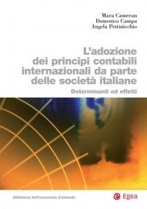 Copertina di 'Adozione dei principi contabili internazionali da parte delle società italiane'