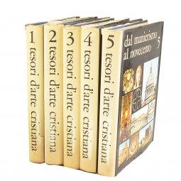 Copertina di 'Tesori d'arte cristiana. 5 volumi'