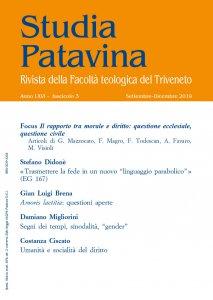 Copertina di 'Studia Patavina 2019/3'
