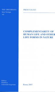 Copertina di 'Complementarity of human life and other life forms in nature'