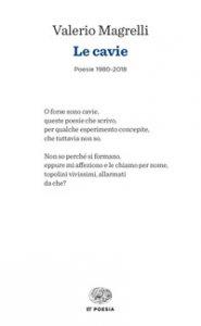 Copertina di 'Le cavie. Poesie 1980-2018'