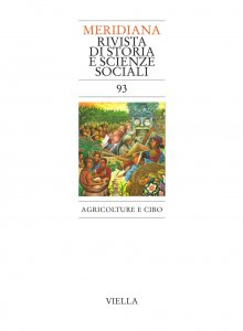 Copertina di 'Meridiana 93: Agricolture e cibo'