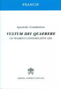 Copertina di 'Vultum Dei quaerere. Inglese'