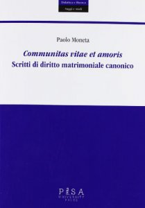 Copertina di 'Communitas vitae et amoris'