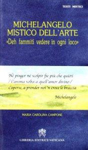 Copertina di 'Michelangelo mistico dell'arte'