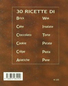 Copertina di 'Trenta ricette di cioccolato'
