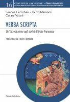 Verba scripta - Simone Ceccobao , Pietro Maranesi , Cesare Vaiani
