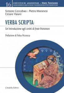 Copertina di 'Verba scripta'