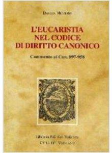 Copertina di 'L'Eucaristia nel codice di diritto canonico'