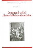 Commenti critici alle note bibliche antifemministe. - Elisa Salerno