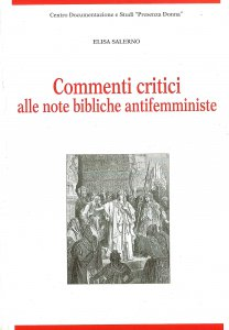 Copertina di 'Commenti critici alle note bibliche antifemministe.'