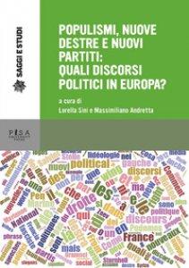 Copertina di 'Populismi, nuove destre e nuovi partiti'