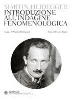 Introduzione alla fenomenologia - Martin Heidegger