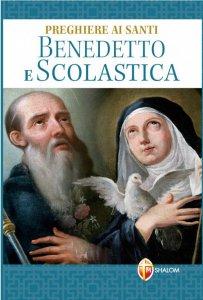 Copertina di 'Preghiere ai Santi Benedetto e Scolastica'
