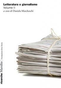 Copertina di 'Letteratura e giornalismo'