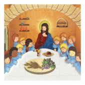 """Mini puzzle """"Ultima Cena"""" per bambini - 12 pezzi"""