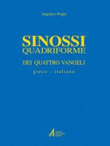 Copertina di 'Sinossi quadriforme dei quattro vangeli. Testo greco e italiano'