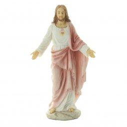 """Copertina di 'Statua in resina """"Sacro Cuore di Gesù"""" - altezza 20 cm'"""